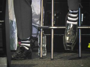 Devin's Striped Socks